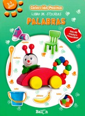 Libro de stickers- Palabras (Pasitos)