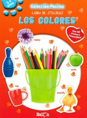 Libro de stickers- Los colores (Pasitos)