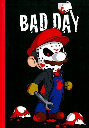 Cuaderno Bad Day (Calaveritas)
